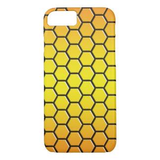 caso do hexagone para o iPhone 7 (laranja) - mal Capa iPhone 7