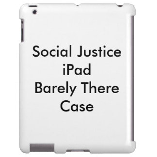 Caso do iPad de justiça social mal lá