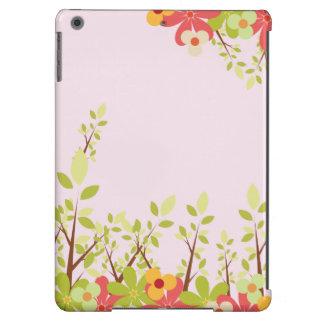 caso do iPad do rosa de jardim das flores Capa Para iPad Air