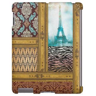 caso do ipad do tema de Paris