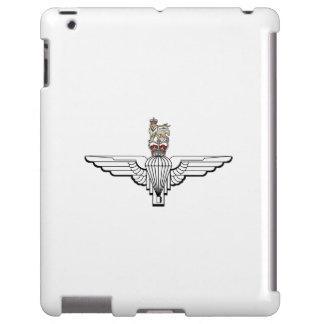 caso do iPad - regimento do pára-quedas Capa Para iPad
