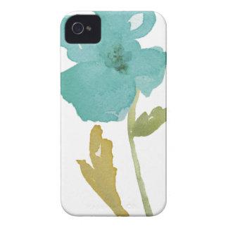 Caso do iPhone 4/4s da escova da flor iPhone 4 Capa