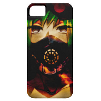 Caso do iphone 5/5s da menina do Anime barato Capa Barely There Para iPhone 5