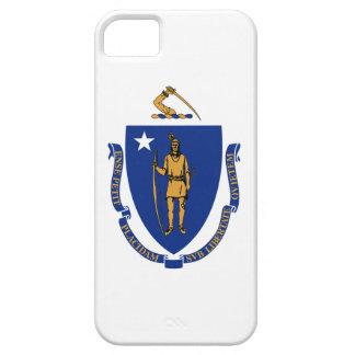 Caso do iPhone 5 da bandeira de Massachusetts Capa Barely There Para iPhone 5