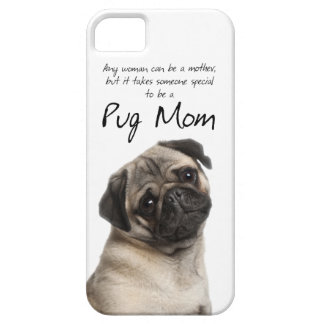 Caso do iPhone 5 da mamã do Pug Capa Barely There Para iPhone 5