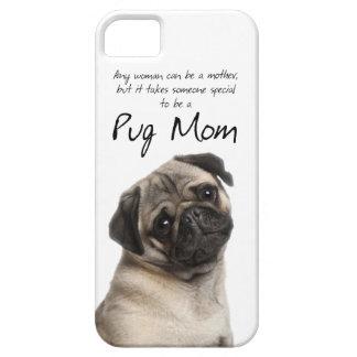 Caso do iPhone 5 da mamã do Pug Capa Barely There Para iPhone 5