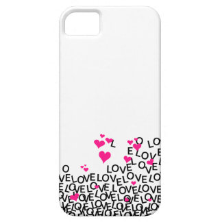 Caso do iPhone 5 do amor do dia dos namorados Capa Barely There Para iPhone 5