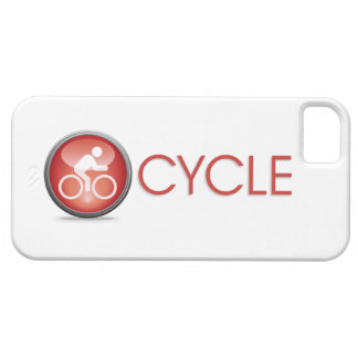 Caso do iPhone 5 do Natação-Bicicleta-Run do CICLO Capa Para iPhone 5