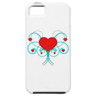 Caso do iPhone 5 dos corações do vetor Capas Para iPhone 5
