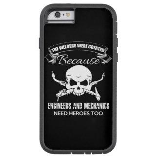 caso do iPhone 6/6s dos heróis dos soldadores Capa Tough Xtreme Para iPhone 6