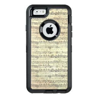 Caso do iPhone 6/6s Otterbox da partitura