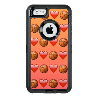 Caso do iPhone 6/6s Otterbox de Emoji do