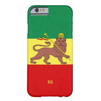 Caso do iPhone 6 da bandeira da música da reggae Capa Barely There Para iPhone 6