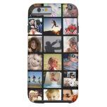 Caso do iPhone 6 da colagem da foto do cliente Capa Tough Para iPhone 6