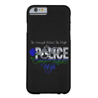 Caso do iPhone 6 da ESPOSA da POLÍCIA do rosa do Capa Barely There Para iPhone 6