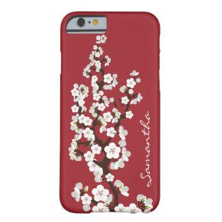 Caso do iPhone 6 das flores de cerejeira Capa Barely There Para iPhone 6