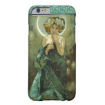 Caso do iPhone 6 de Alphonse Mucha Clair De Lune Capa Barely There Para iPhone 6
