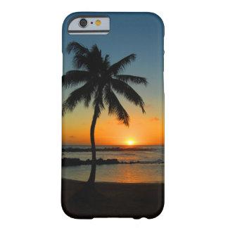 Caso do iPhone 6 de Havaí Kauai - por do sol da Capa Barely There Para iPhone 6