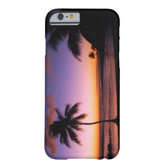 Caso do iPhone 6 de Havaí Kauai - praia de Poipu Capa Barely There Para iPhone 6