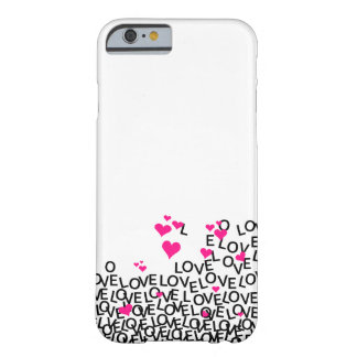 Caso do iPhone 6 do amor do dia dos namorados Capa Barely There Para iPhone 6