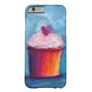 Caso do iPhone 6 do cupcake Capa Barely There Para iPhone 6
