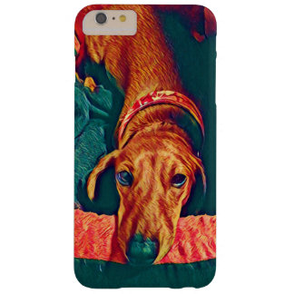 Caso do iphone 6 do Dachshund Capas iPhone 6 Plus Barely There
