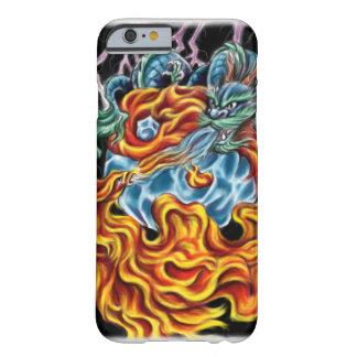 Caso do iPhone 6 do dragão e do Phoenix Capa Barely There Para iPhone 6