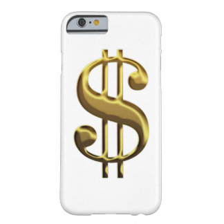 Caso do iPhone 6 do sinal de dólar Capa Barely There Para iPhone 6