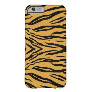 caso do iPhone 6 - listras do tigre Capa Barely There Para iPhone 6