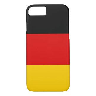 caso do iPhone 7 com a bandeira de Alemanha Capa iPhone 7