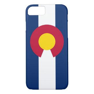 caso do iPhone 7 com a bandeira de Colorado Capa iPhone 7