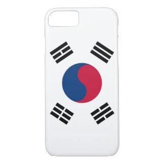 caso do iPhone 7 com a bandeira de Coreia do Sul Capa iPhone 7