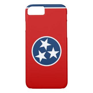 caso do iPhone 7 com a bandeira de Tennessee Capa iPhone 7