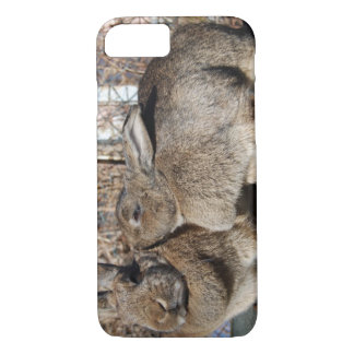 caso do iPhone 7 com os coelhos que smooching Capa iPhone 8/7