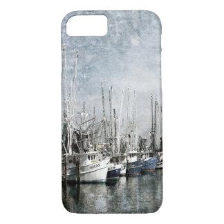 Caso do iPhone 7 dos barcos do camarão Capa iPhone 8/7