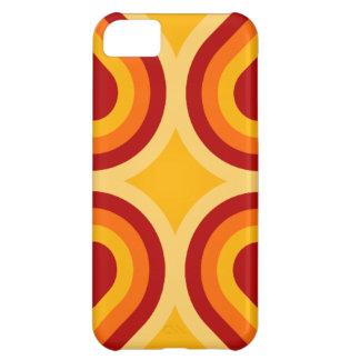 Caso do iPhone moderno 5 da laranja e da oxidação Capa Para iPhone 5C