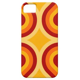 Caso do iPhone moderno 5 da laranja e da oxidação Capas Para iPhone 5