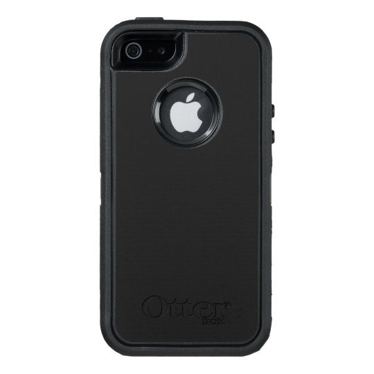 Custom OtterBox iPhone SE/5/5s Série Defender Case, Preto