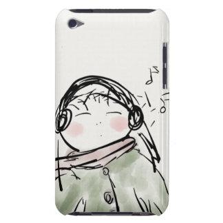 Caso do ipod touch da case mate mal lá--Menina fri Capa Para iPod Touch