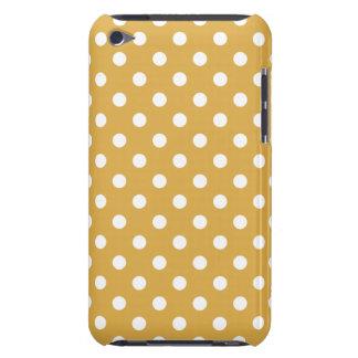 Caso do ipod touch G4 das bolinhas do ouro do mel Capa Para iPod Touch