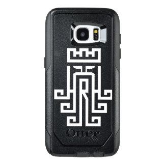Caso do logotipo da borda da galáxia S7 de Samsung