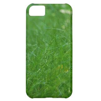 Caso do telemóvel da grama verde para o jogador de capa para iPhone 5C