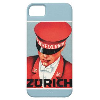 Caso do vintage iphone5 de Zurique Capas Para iPhone 5