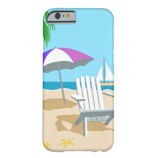 Caso dos dias da praia capa barely there para iPhone 6