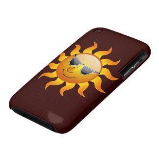 Caso engraçado do iPhone 3G/3GS de Sun do verão Capas De iPhone 3 Case-Mate