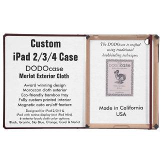 Caso feito sob encomenda do iPad 2/3/4 - fólio de Capa iPad