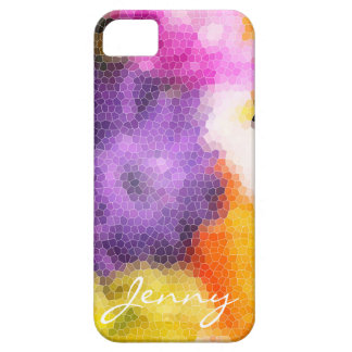 Caso floral abstrato de Personalisable Capas Para iPhone 5