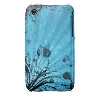 Caso floral do blackberry curve do design do capinhas iPhone