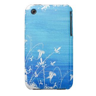 Caso floral do blackberry curve do design do Grung Capa De iPhone 3 Case-Mate