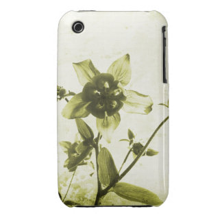 Caso floral do blackberry curve do design do Grung Capas iPhone 3 Case-Mate